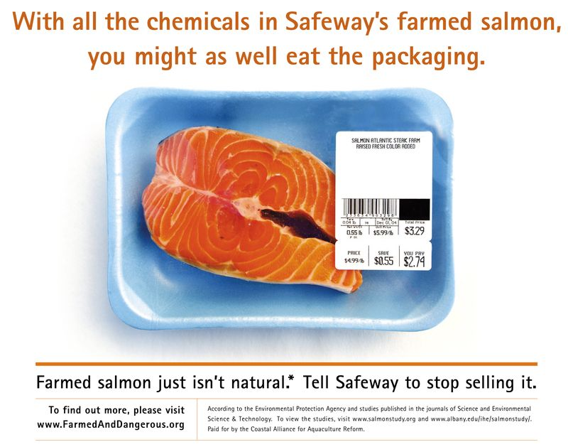 Safeway Eat the Packaging