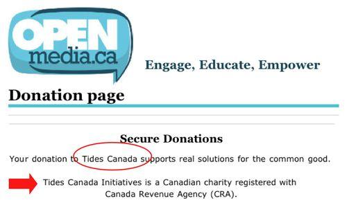 OpenMedia.ca TIDES CANADA rdcirc