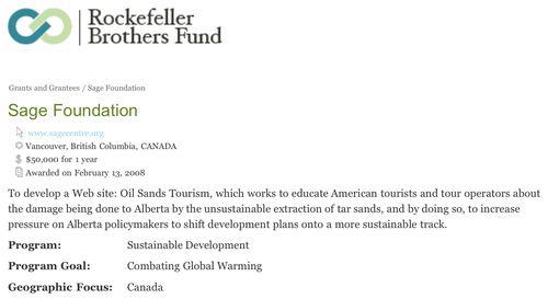 * RBF $50,000 web-site