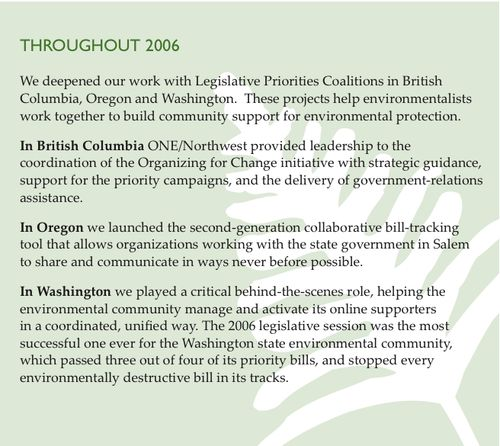 Groundwire Org4Change pg. 7 2006
