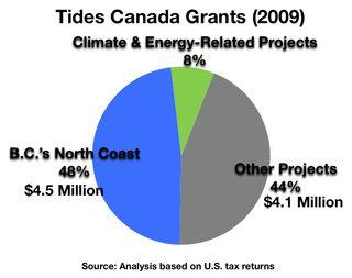 Fig(pie) TCF Grants 2009