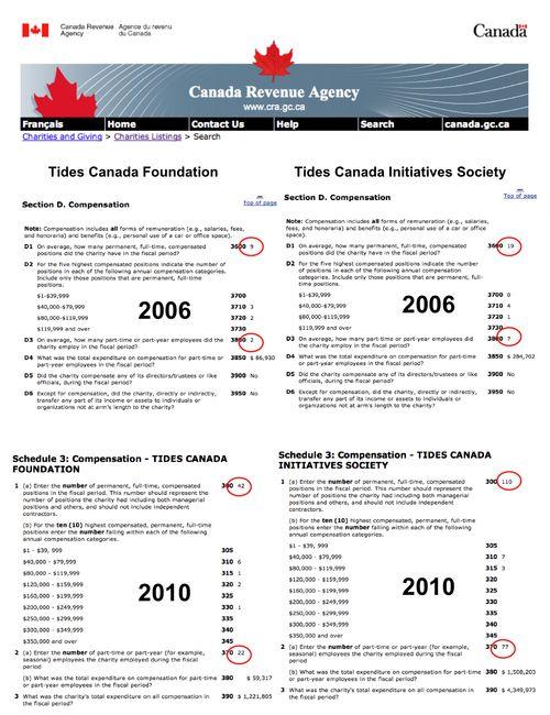 TCF TCIS Employees 2006 2010