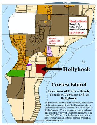 Hank's Hollyhock Treedom MAP
