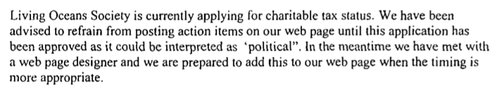 LOS Bullit excerpt politically active