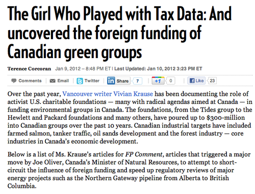The Girl Who Played With Tax Data