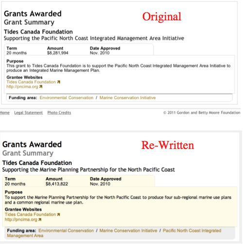 Moore $8.1 Million Original & Rewritten