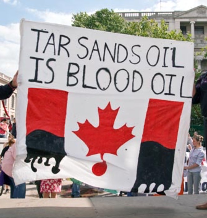 Tar Sands Blood Oil