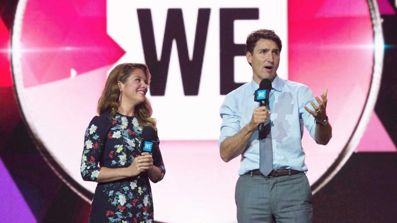 WE Justin & Sophie Trudeau