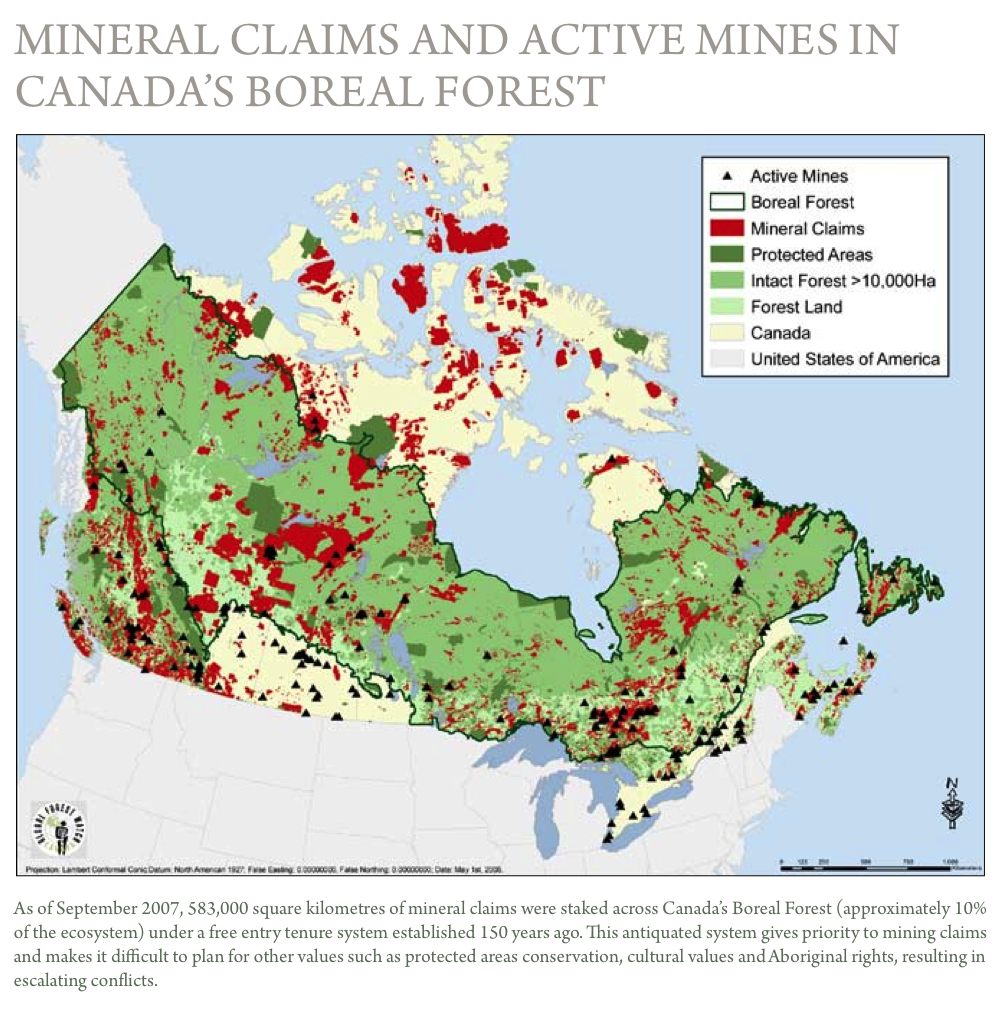 This Fact Is Not Lost On Pew In Fact Some Of Pew S Grants For The Boreal Forest Initiative Are Titled British Columbia Mining